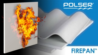 Fire Resistant GRP Sheets