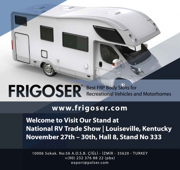 Frigoser National RV Trade Show Fuarında