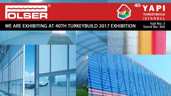 We Are Exhibiting At 40th TURKEYBUILD 2017